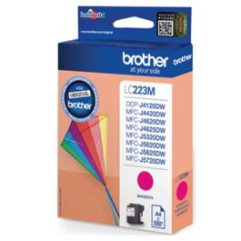 Cartucho Tinta BROTHER LC223MBP Magenta Larga Duración