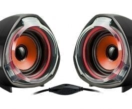 Altavoces WOXTER BB70 2.0 USB Red 15W