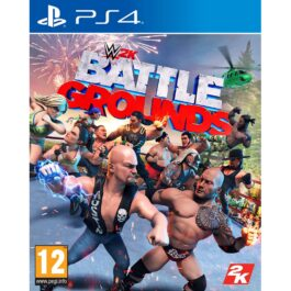 "Juego SONY PS4 ""WWE 2K Battlegrounds"""