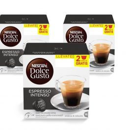 Pack 3 Cajas DOLCE GUSTO Espresso Intenso 16+2 Cápsulas