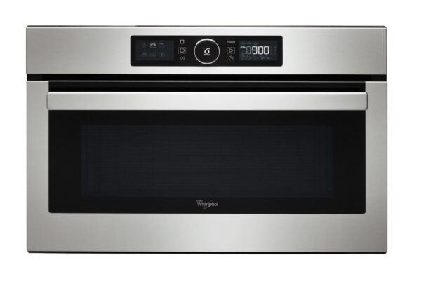 WHIRLPOOL AMW730IX Stainless Steel Built-in Microwave Grill