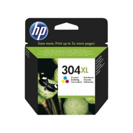 Cartucho Tinta HP N9K07AE Color N304XL